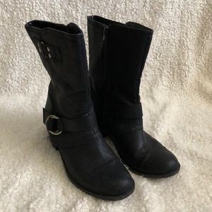 Rampage black ankle boot size 8